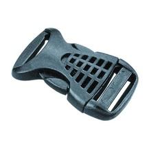 【厂家现货批发】外贸背包带塑料调节扣 环保黑色的保险带插扣