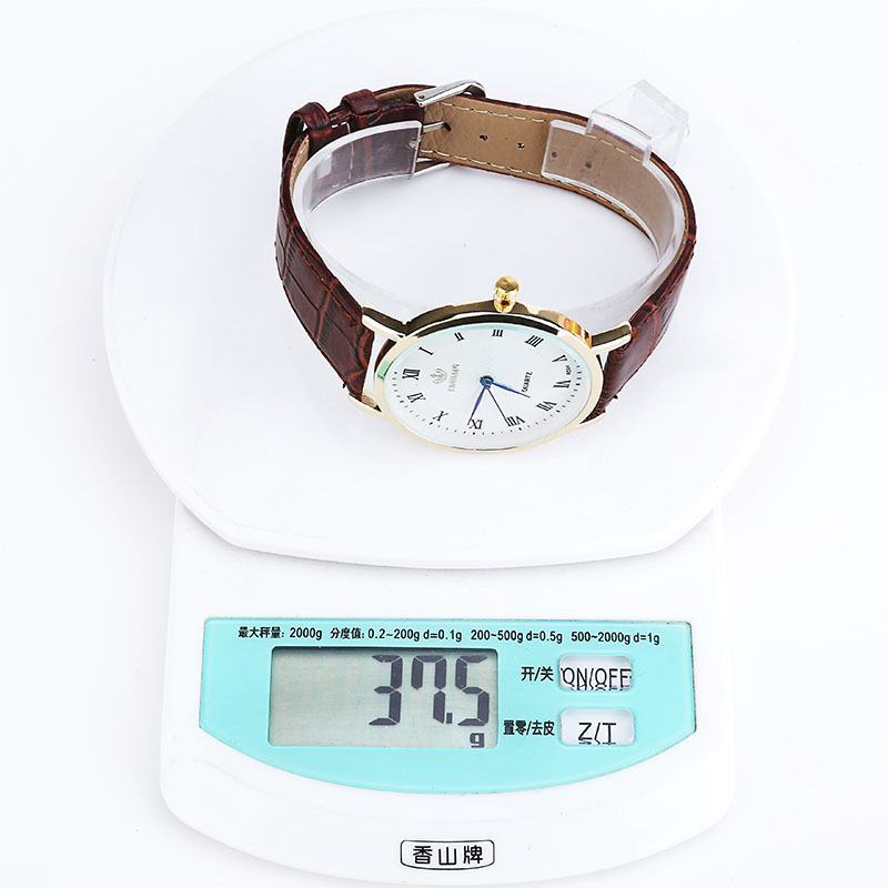 fashion Men watch (White side brown strap)NHMM1929-White side brown strap