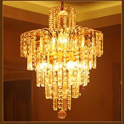 水晶吊灯 现代简约led吊灯 欧式led水晶吊灯 水晶小吊灯餐吊灯