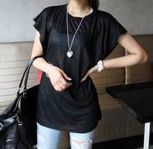 胖mm大碼女裝一件代發 夏裝批發2016新款棉T恤圓領胖人服裝短袖