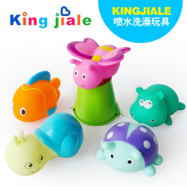 32836 Children playing in the water, squeezing, baby shower toys, pinching, tangling, small animals, KINGJIALE