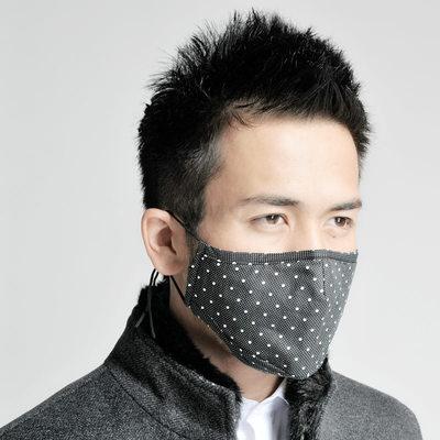 纯棉口罩女防尘防晒透气黑色男潮款个性韩版可清洗易呼吸