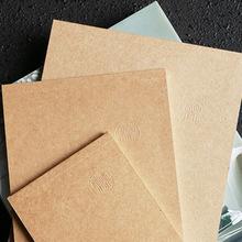 小马百货 韩国文具批发 本木 自然便条本 简约牛皮色随写本记事本