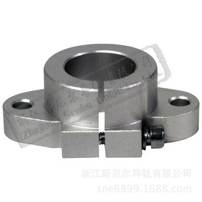 圆柱直线导轨支撑座 卧式 菱形 轴支撑 光轴 铝合金 支撑 SHF16