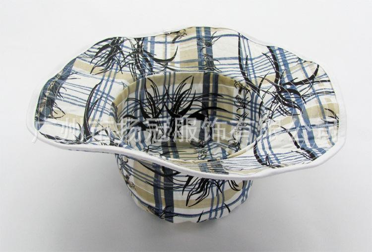 沙滩帽、从林帽、防晒帽 花纹图案