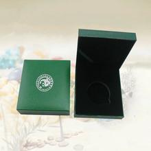 厂家生产 一盎司熊猫银币盒 仿皮纸金币盒 金币纪念币礼品盒定做