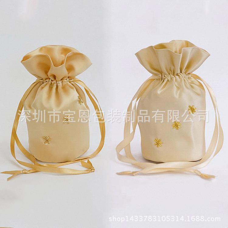 大量生产 防真丝色丁布袋 珠宝首饰色丁布袋 色丁布袋定做