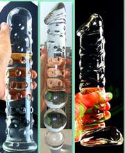 女用自慰超大尺寸水晶陽具巨無霸仿真玻璃陽具自慰高潮專用