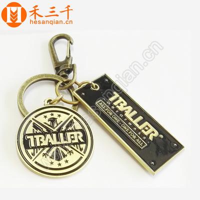 定制金属烤漆钥匙扣 创意实用配饰挂件 浮雕汽车钥匙扣小礼品