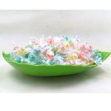 港美千纸鹤多彩糖混合水果味vc许愿彩虹糖果散装一袋5斤 批发