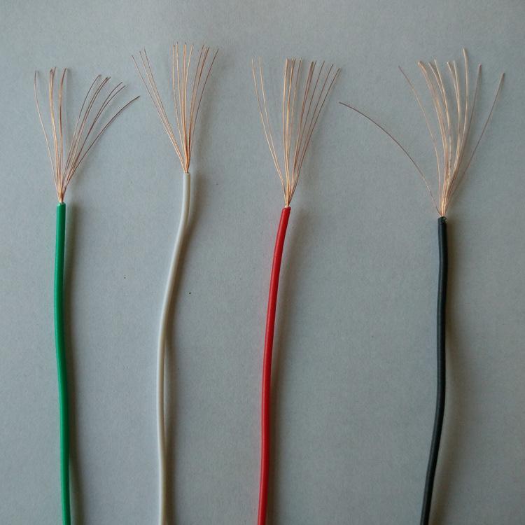 供应 舜杰彩色电子线  圆线标准厚度电子线 厂家直销