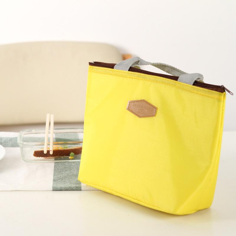 厂家直销 新款糖果色防水冰包保温包野餐包饭盒收纳包手提便当包