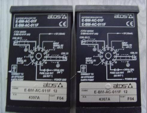 意大利ATOS放大器E-ME-AC-05F/4R-4 20 /3ATOS放大器现货图片报价