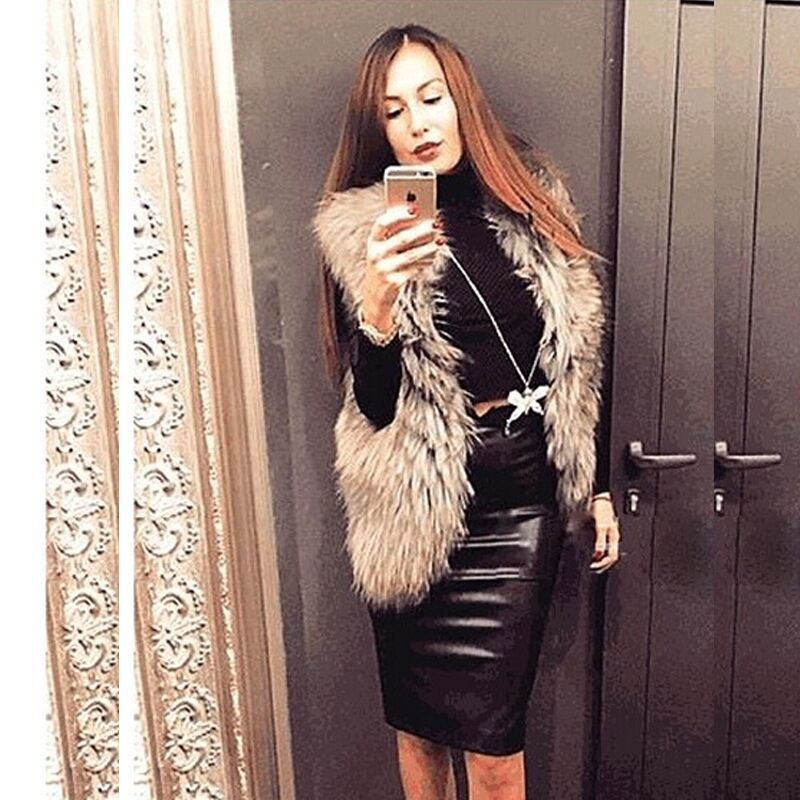 Women'S Leather Skirts Sale