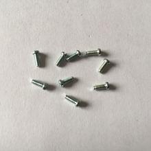 机牙非标螺丝 电子微型小螺钉M2*6,圆头一字槽螺钉