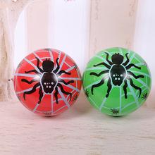 厂家直销  pvc充气双色球 波波球2元店 地摊热销产品22cm质量保证