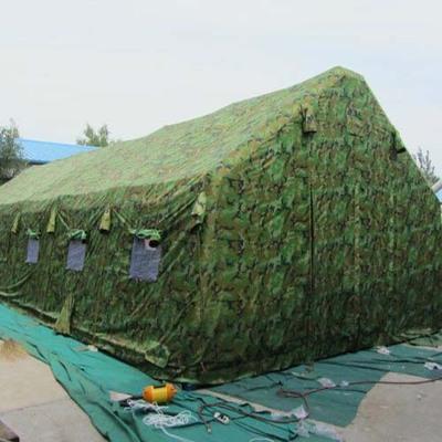 84.5平米双层森林迷彩充气帐篷 婚庆酒宴充气帐篷 事宴充气帐篷