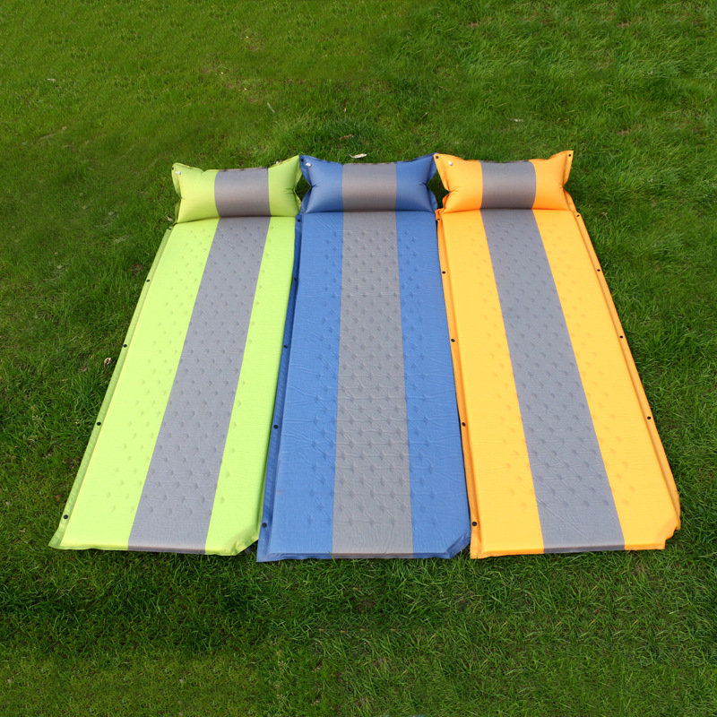 厂家直销批发 拼接户外 自动充气垫 野营防潮帐篷垫  露营垫野餐