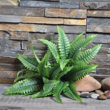 【苗苗花艺】仿真植物 热带植物蕨叶仿真绿植仿真植物墙配材批发