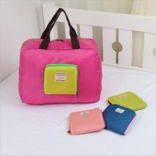 韩版iconic可折叠旅行收纳包便携手提购物袋加厚款衣物整理收纳袋