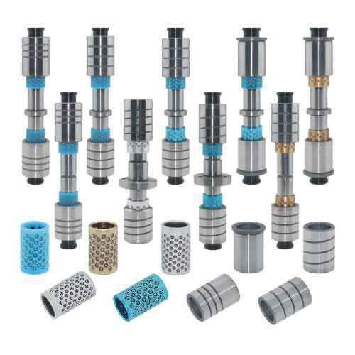 卸料板滚珠导柱导套WSTSH,连接器模具用导柱组件(塑胶珠套)