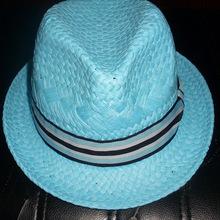 新款草帽拉拉纸草手工编织男女通用英伦爵士礼帽厂家直销加工定做