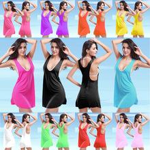 歐美爆款沙灘裙女士泳衣外罩衫夏季背心裙一件代發免費加盟代理