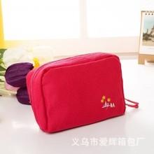 義烏HECATTLE廠家 韓國多功能帆布存折包/化妝包/數碼包 小整理包