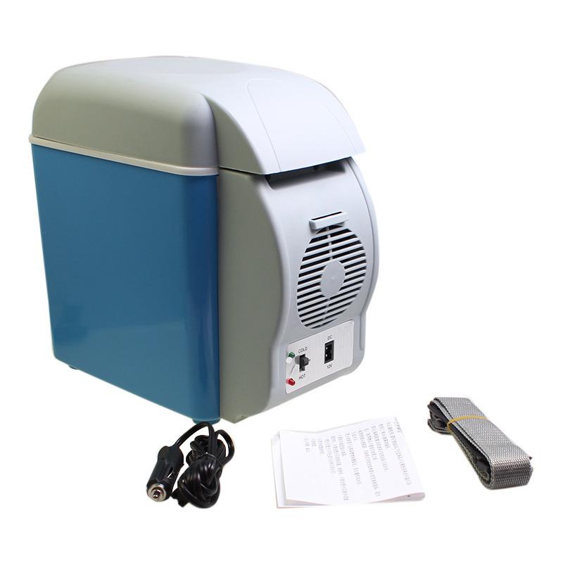 12V автомобиль холодильник автомобиль благополучие коробка мини автомобиль холодильник  7.5L на открытом воздухе мини благополучие небольшой холодильник