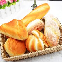 仿真面包蛋糕模型 仿真面包居家客厅摆件?#39057;?#35013;饰摄影影视道具