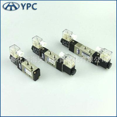 厂家批发YPC电磁阀4YV210-08二位五通单控换向先导式1/4 4V电磁阀