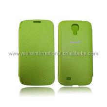 批发galaxy S4 i9500手机保护皮套 超薄电压油边款手机套 可Logo