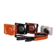 相机包 索尼 HX90 V 皮套HX30 HX50 HX60 WX500 相机套 保护套