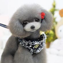 生产厂家 狗用品 宠物胸背带牵引绳 宠物衣服 春夏 背心套装批发