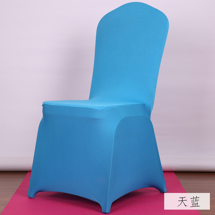 white polyester spandex wedding chair covers wholesale lots