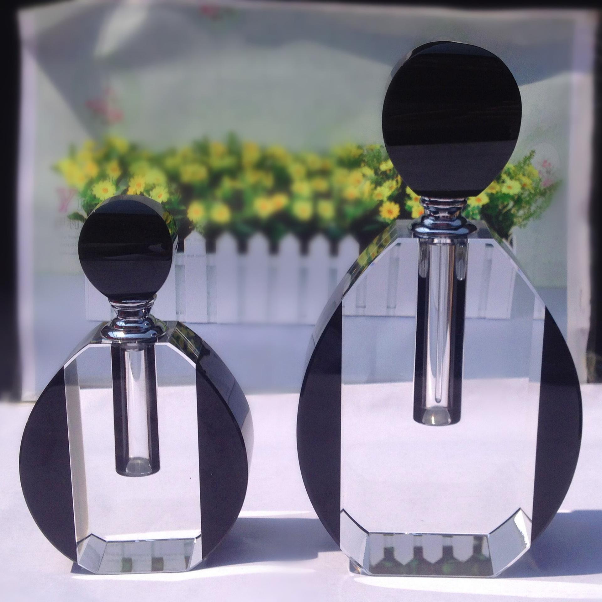 新款家居摆件水晶人体香水瓶批发 定制高端水晶香水瓶工艺品