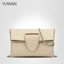 正品小包新款真皮女包信封包欧美风范手提包百搭时尚现货一件代发