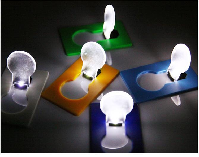 LED卡片灯定制LOGO小夜灯/卡片灯 圣诞节小礼物 热卖小礼品