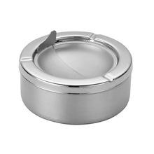創意個性實用不銹鋼圓形/三角形缸煙盅防風煙缸男士商務禮品
