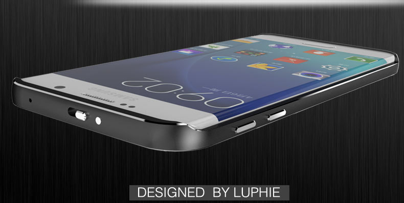 Luphie Aircraft Aluminum Metal Frame 9H Tempered Glass Back Cover Case for Samsung Galaxy S6 Edge Plus G9280 & S6 Edge G9250