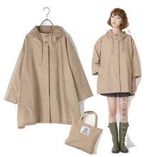 蝙蝠衫新款風衣韓國日本新概念清新可愛輕薄透氣時尚雨披斗篷雨衣