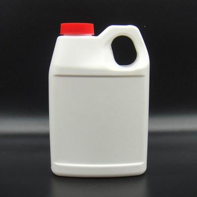 500ml方扁形塑料提手瓶 C-041 汽車添加劑塑料壺 汽車玻璃水瓶