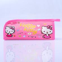 新韩版卡通笔袋 卡通笔盒 粉色铅笔盒 hellokitty笔袋笔盒