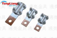 JTL铜铝接线夹 JTL-100A 线鼻子 设备线夹 电缆接头 过渡夹金具