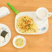 韩式青花蔓陶瓷分餐盘 西餐下午茶点心盘子 创意家居用品 餐具