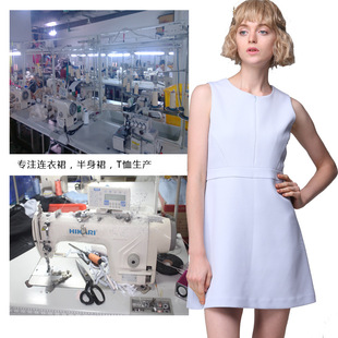 2020 autumn and winter women's clothing to map proofing strength factory production and processing custom European and American high-end dress