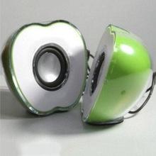 热销USB笔记本电脑通用音响 优质个性苹果音箱 创意发光低音炮