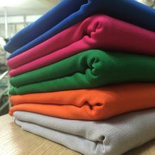 厂家直销经典染色单面精梳服装用布 春夏季时尚纬编罗马布料