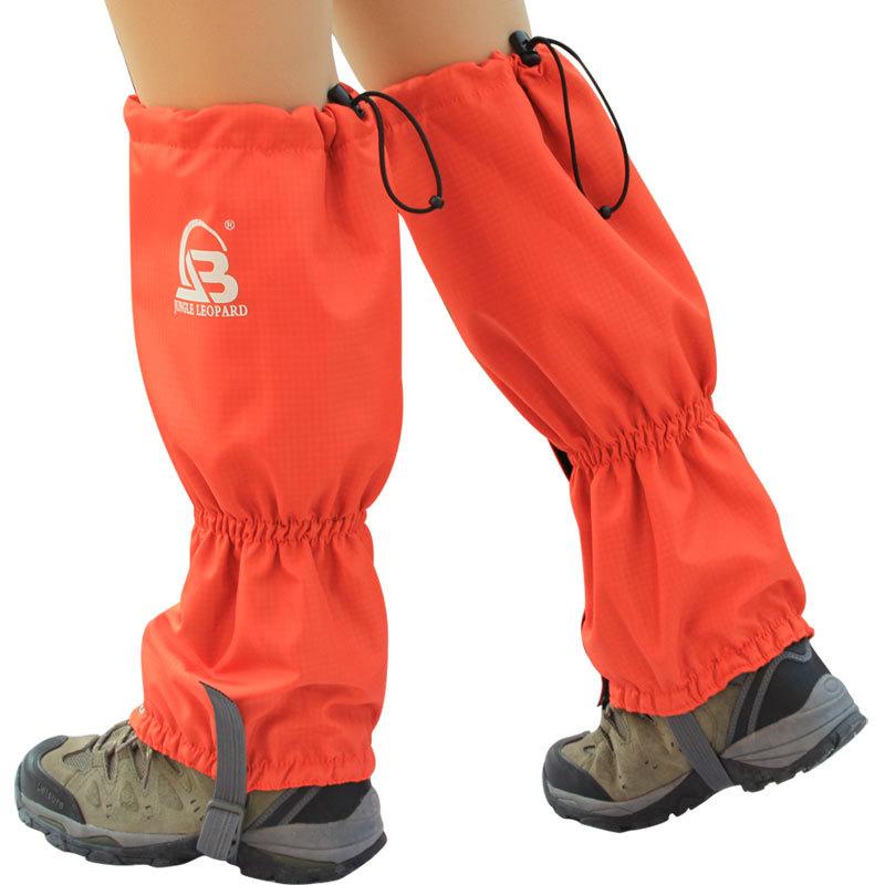 户外登山抓绒雪套 滑雪脚套 运动装备 防水透气设计 保温保暖