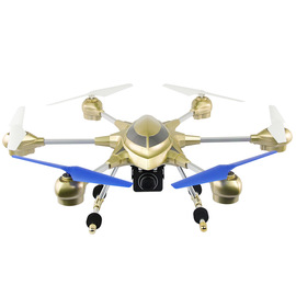 Model explorer second generation alloy six-axis aerial camera remote control aircraft remote control aircraft helicopter toy children